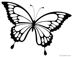 Black Swallowtail Butterfly Coloring Page Printable Pages For Kids