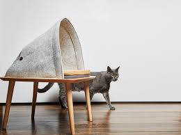 modern cat stylish cat beds and cocoons for the discerning pet