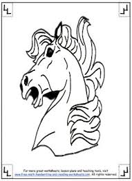 Horse Coloring Pages 10