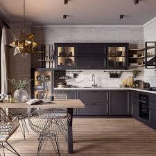 moderne landhausküche freda l form massivholzküche