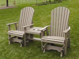 amish outdoor wood and polywood settees from dutchcrafters amish