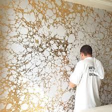 wabi bedroom install by poco designs calicowallpaper