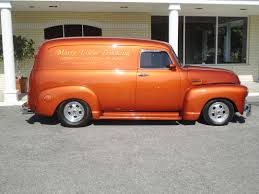 1954 CHEVROLET PANEL TRUCK 3100 Retro Custom Hot Rod Rods G ...