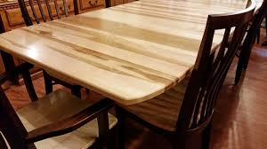 Amish Made Solid Maple Wood Dining Set