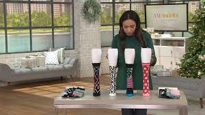 Happy Socks Multi Color Crew Set Of 4 On QVC