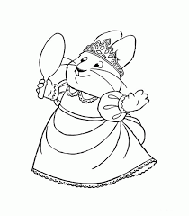 Bunny Nick Jr Coloring Pages