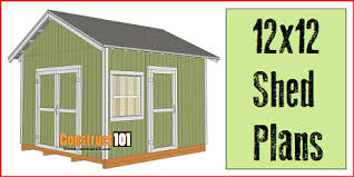 12x16 Shed Plans Material List by How To Build A Shed Free Shed Plans Build It Yourself