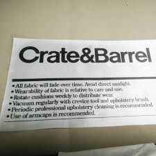 Crate And Barrel Axis Sofa Slipcover by 72 Off Crate And Barrel Crate U0026 Barrel Axis Ii Seat Sofa Sofas