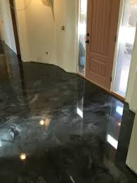 100 Solids Epoxy Floor Coating by Metallic Epoxy Floor Coating By Sierra Concrete Arts Interior