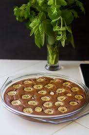 dessert rapide chocolat banane gâteau rapide chocolat banane patisserie chocolate and food