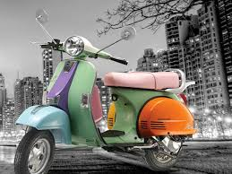 The Star Euro Features A Full Metal Body Though Not Monocoque Chassis Like Vespa