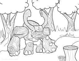 Skylander Giants Coloring Pages