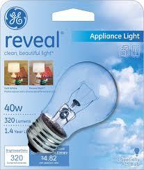 ge lighting 15206 40 watt appliance light a15 1cd light bulb