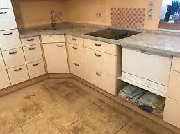 einbauküche l form mit elektrogeräten gebraucht eur 290 00