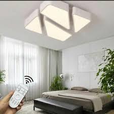 details zu nts deckenleuchte decken leuchte schlafzimmer flur dimmbar deckenle