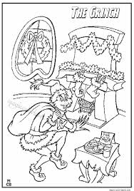 The Grinch Coloring Pages 06