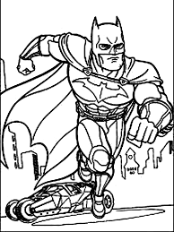 Batman And Robin Coloring Pages For Boys 19