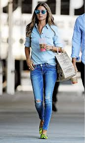 Olivia Palermo Denim Outfit 2014
