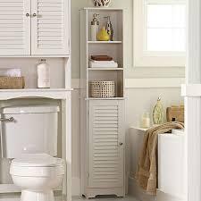 bathroom cabinets tall narrow cabinet bathroom floor storage