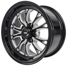 JEGS 681426: SSR Spike Wheel Diameter & Width: 15 X 8