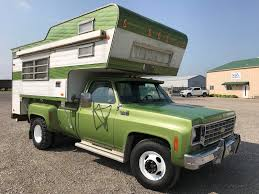 BangShift.com 1975 Chevy C30 Dually Truck And Camper Combo Ebay
