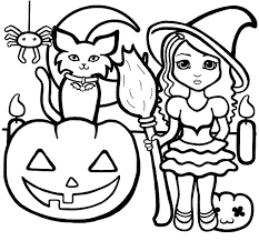 Halloween Coloring Pages Printables Haunted House Colouring Sheets For Preschoolers Page Printable Free Pumpkin Full