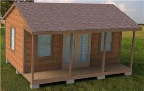 16x20 Shed Plans With Porch by Shed Plans Colonial Style 16x20 Cabin Shed Guest House Building