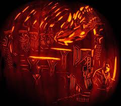 Walking Dead Pumpkin Designs by Noel Smaug In Erabor Bilbo1478 Jpg