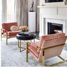 Living Room Chairs Modern Upholstered Velvet Chair Modernchairs