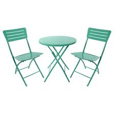 Slingback Patio Chairs Target by Metal Folding Patio Chair Turquoise Room Essentials Target