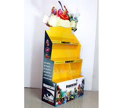 Strong Design Grocery Store DisplayCardboard Toy Display Stand