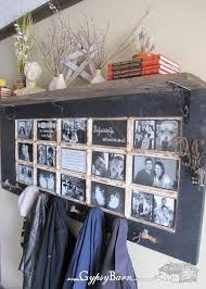 Old Door Frame and Coat Rack Ideal for a Hallway Amazing