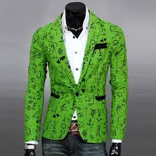 mens fashion floral blazer casual slim fit long sleeve one button