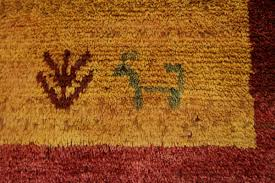 Lovely Tribal Design Original Modern Gabbeh Persian Rug Oriental Area Carpet 5X7