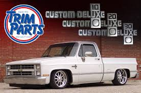 100 88 Chevy Truck 1981 Custom Deluxe Emblems CarBuff Network