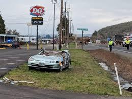 100 Logging Truck Accident Three People Survive Log Truck Car Accident Near Sheridan KLYC Radio