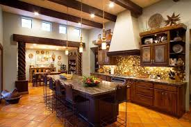 Image Of Country Rustic Kitchen Decor