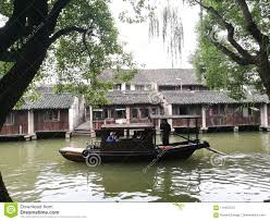 100 Boat Homes Wenzhou Willow Tree Editorial Image Image Of