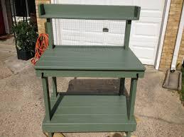 diy potting bench myoutdoorplans free woodworking plans and