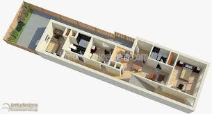 First Floor Plan Rendering