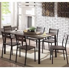 Furniture Of America Patton 7 Piece Rustic Modern Farmhouse Dining Table Set