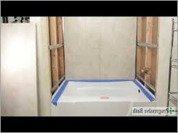 how to install a fiberglass shower pan with tile 盪 fresh tile made