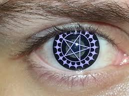 Halloween Contact Lenses Amazon by Ciel Phantomhive Contacts Black Butler Youtube