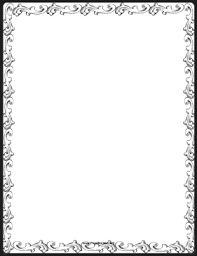 Fancy Decoration Border Page