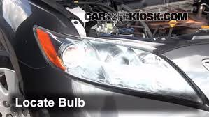 headlight change 2007 2011 toyota camry 2010 toyota camry le 2 5