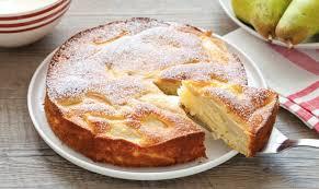 dessert aux poires leger gâteau invisible aux poires léger recette légère plat et recette
