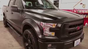 100 Cost To Wrap A Truck Vinyl Satin Black On A FORD F150 YouTube