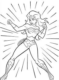 62 Wonder Woman Printable Coloring Pages For Kids Find On Book Thousands Of
