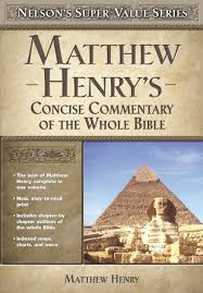 Matthew Henrys Concise Commentary On The Whole Bible Super Value Series Henry 9780785250487 Amazon Books