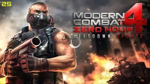 modern combat 4 zero hour review testing on mali 400mp2